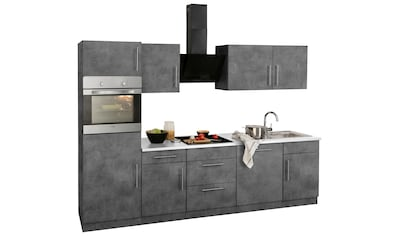 wiho Küchen Küchenzeile »Cali«, ohne E-Geräte, Breite 280 cm kaufen
