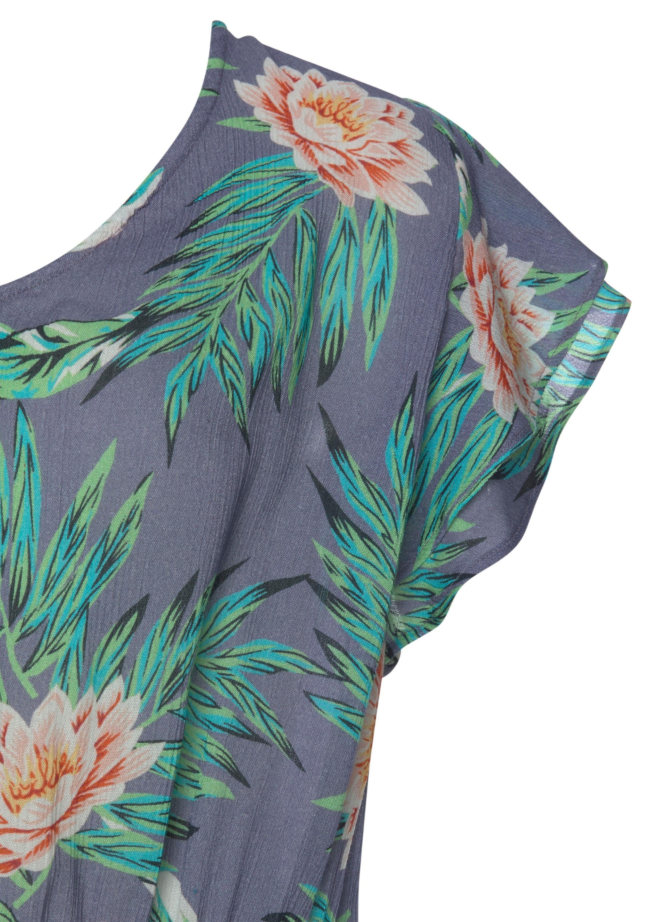 soliver beachwear kurzoverall Modische Volants an den Ärmeln AKLBB1009559556