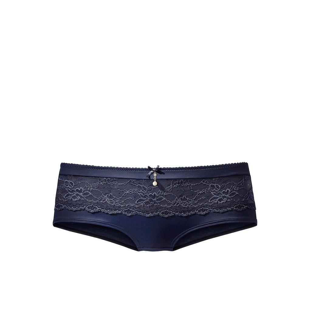 LASCANA Panty »Nina«, mit transparenter Spitze vorne