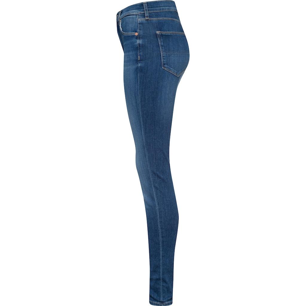 Tommy Jeans Skinny-fit-Jeans »SYLVIA NKL HR SPR SKNY BE181 GRS«, mit leichten Destroyed-Effekten & Faded-out