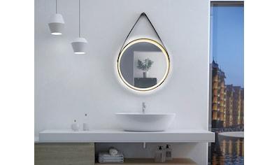 Talos Badspiegel »Golden Summer«, Durchmesser 55 cm, mit LED-Beleuchtung kaufen