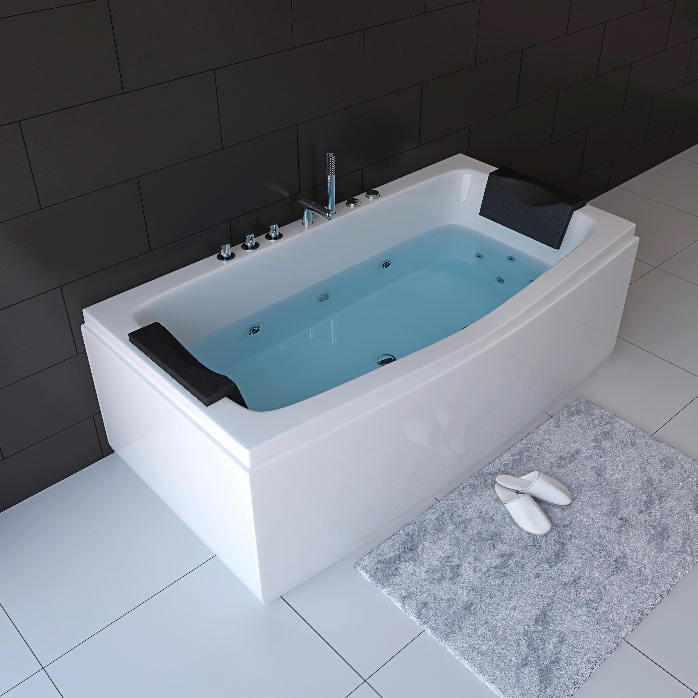 HOME DELUXE Whirlpool Badewanne »Noor«, B/H/T 20 / 20 / 20 cm auf ...