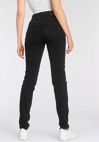 Herrlicher High-waist-Jeans »RADINA POWERSTRETCH«, mit leichtem Push-Up-Effekt kaufen