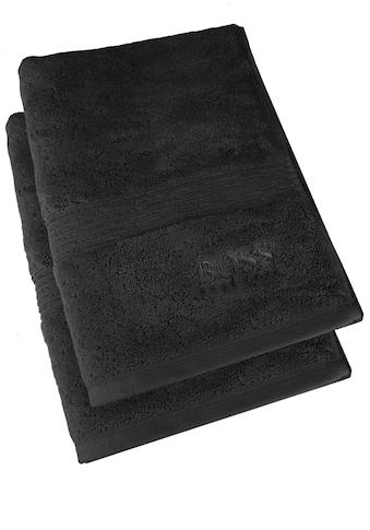 Hugo Boss Home Handtuch »LOFT 2-tlg.«, (2 St.), 100 x 50 cm kaufen