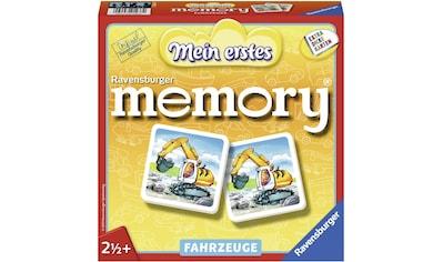 """Ravensburger Spiel, """"Mein erstes memory® Fahrzeuge"""" kaufen"""