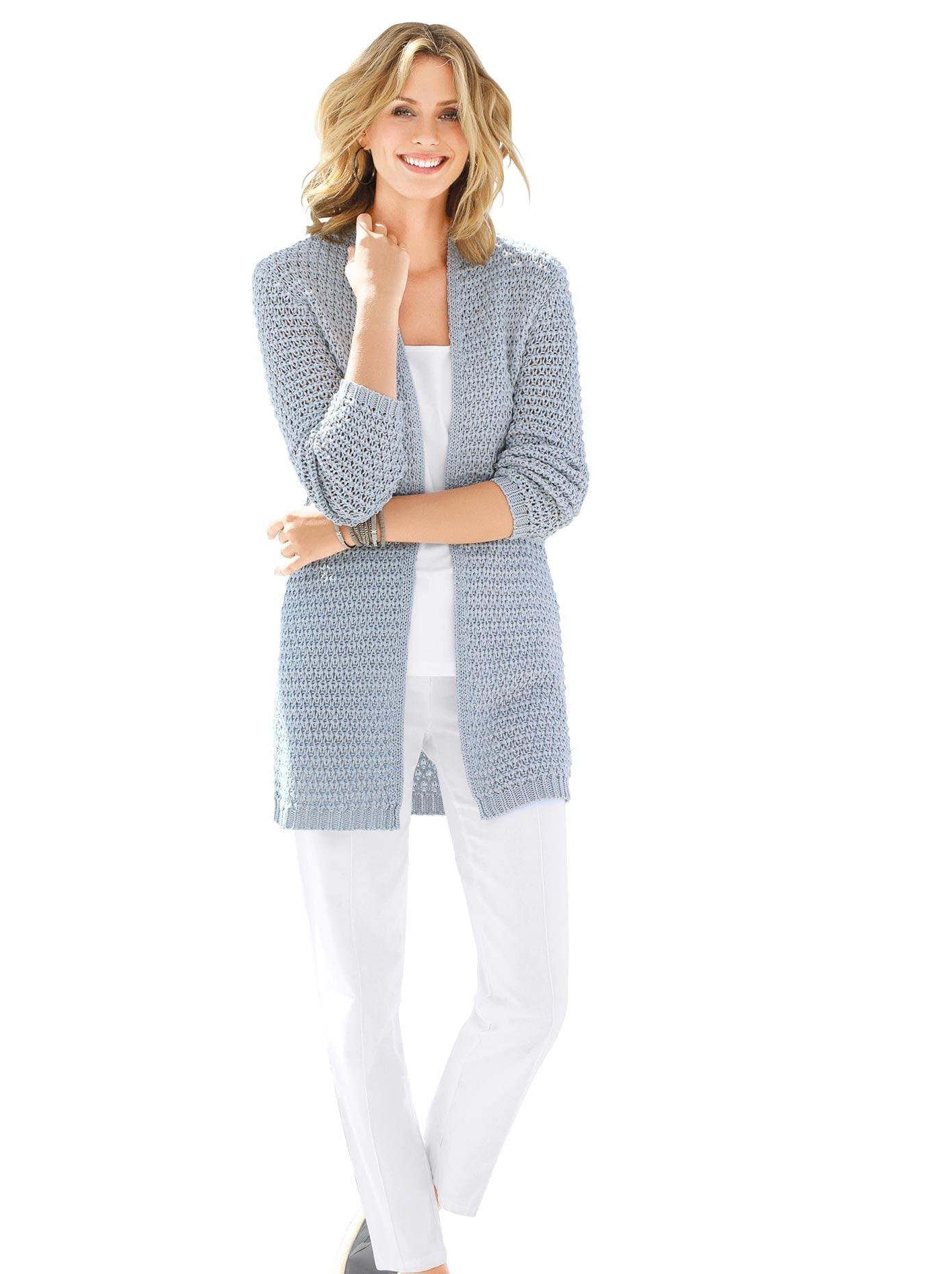 Ambria Hose mit optisch streckender abgesteppter Biese vorne | Bekleidung > Hosen > Sonstige Hosen | Weiß | Ambria