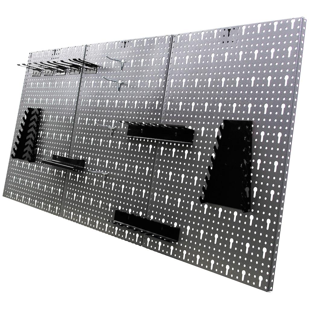 ONDIS24 Werkstatt-Set »Bastler«, höhenverstellbar, inkl. Hakenset