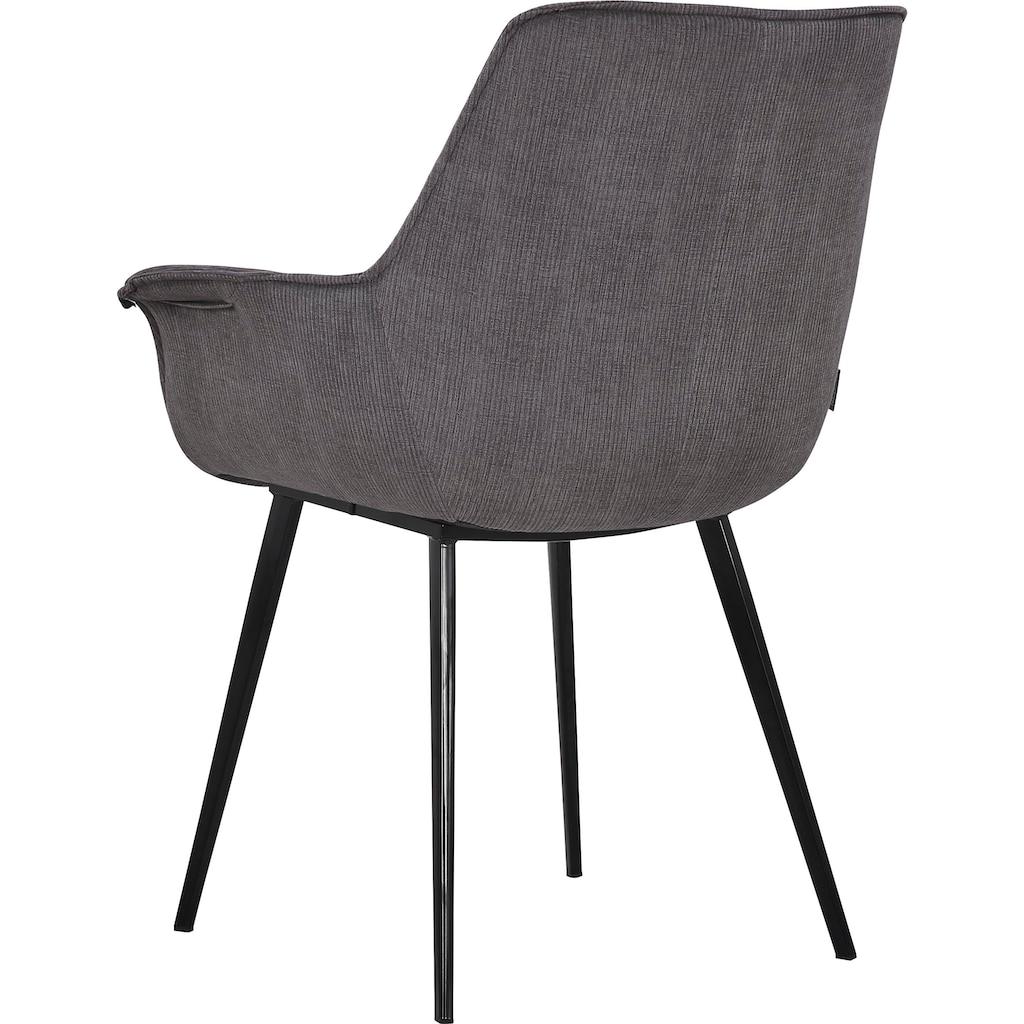 INOSIGN Esszimmerstuhl »Bente«, 2er-Set, Sitz und Rücken gepolstert, in 3 verschiedenen Farben