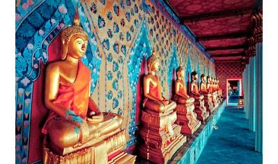 Papermoon Fototapete »Golden Statues of Buddha« kaufen