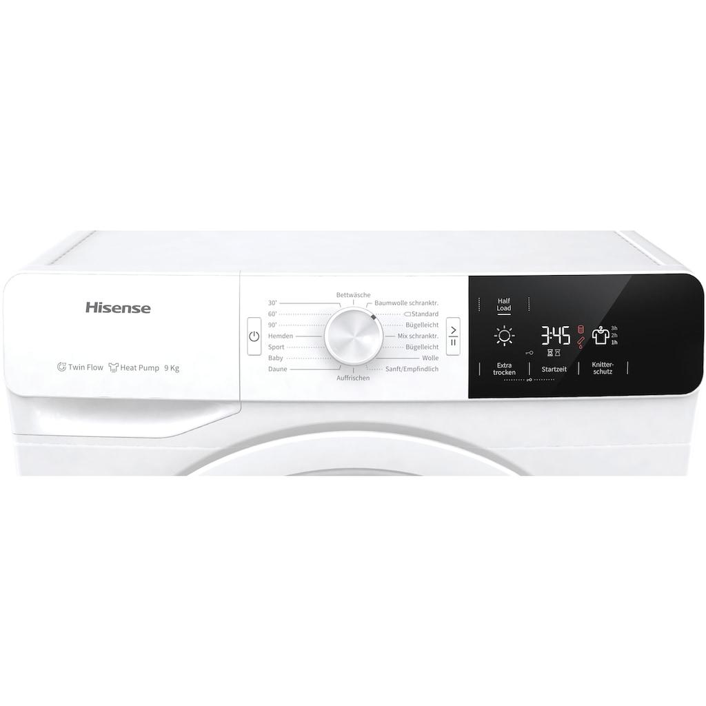 Hisense Wärmepumpentrockner »DHGE901«