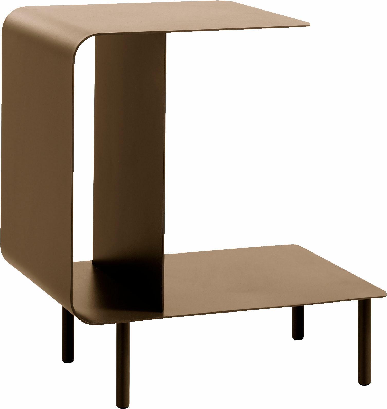 hülsta Beistelltisch MULTI -VARIS 03, aus Metall, Höhe 52 cm gelb Beistelltische Tische