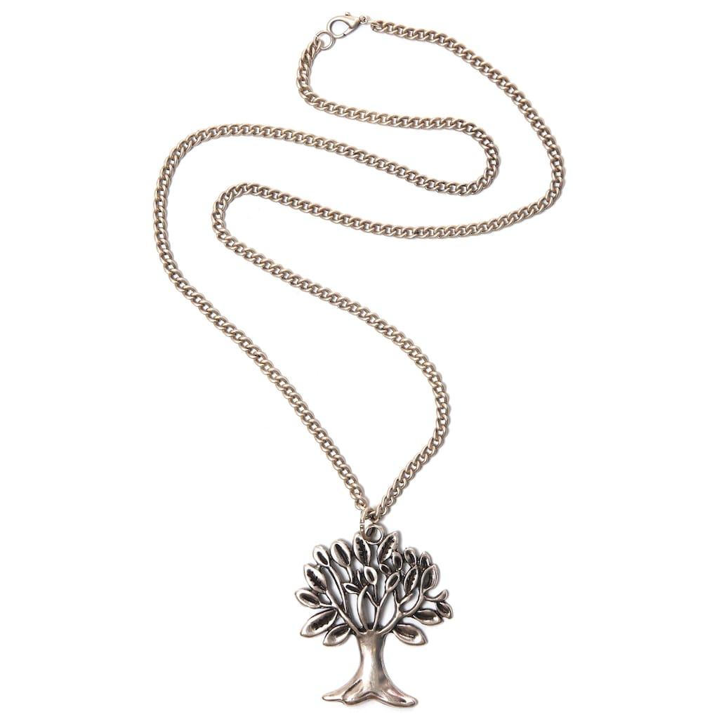 COLLEZIONE ALESSANDRO Kette mit Anhänger »Lebensbaum, C2346-F107«