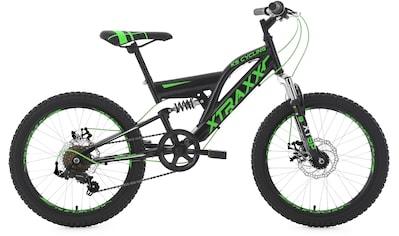 KS Cycling Mountainbike »XTRAXX«, 7 Gang, Shimano, Tourney Schaltwerk, Kettenschaltung kaufen