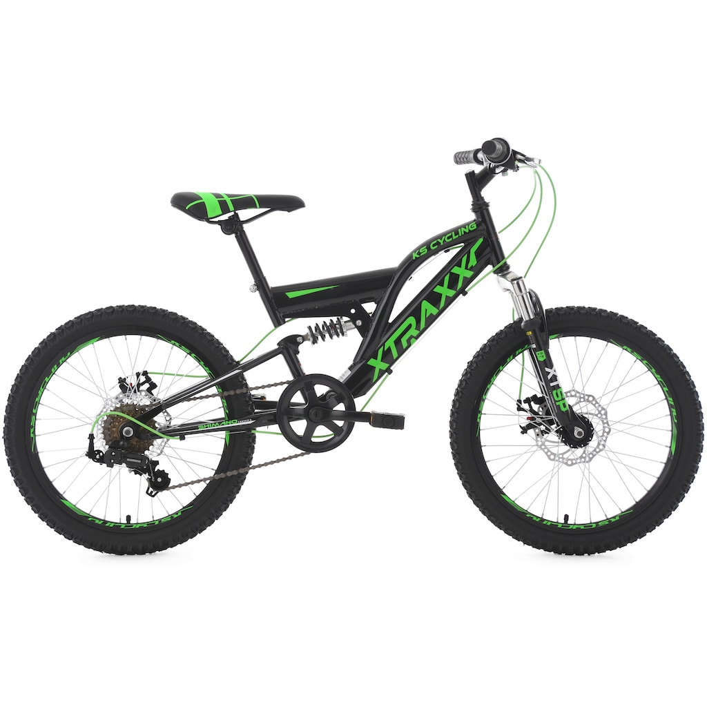 KS Cycling Mountainbike »XTRAXX«, 7 Gang, Shimano, Tourney Schaltwerk, Kettenschaltung