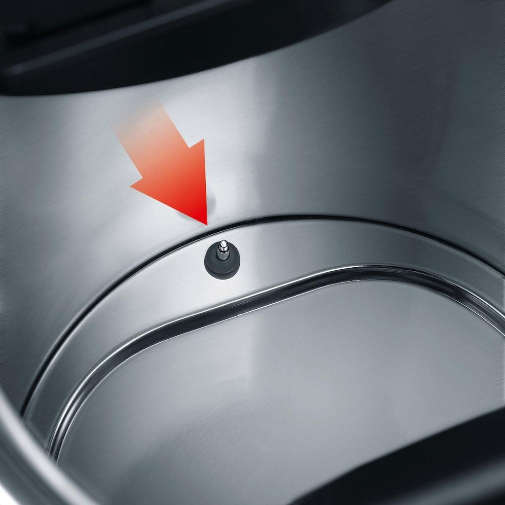 Graef Wasserkocher »WK 702«, 1,5 l, 2015 W, mit Temperatureinstellung, Edelstahl, schwarz