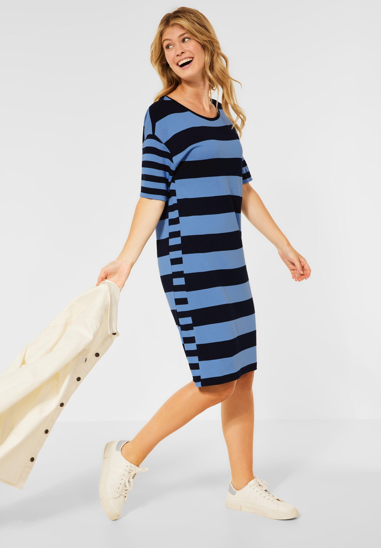 cecil -  Jerseykleid, mit Streifen Muster