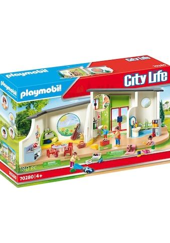 "Playmobil® Konstruktions - Spielset ""KiTa Regenbogen (70280), City Life"" kaufen"