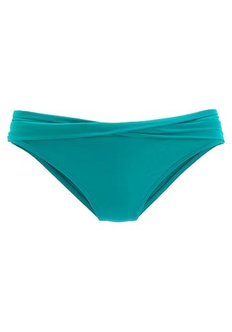 s.Oliver Beachwear Bikini-Hose »Spain«, mit gedrehtem Bündchen kaufen