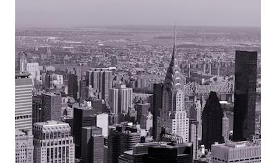 Papermoon Fototapete »Manhattan Retro«, Vliestapete, hochwertiger Digitaldruck kaufen