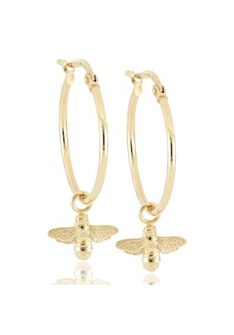 JULES & GENTS Paar Creolen »#bee Gold« kaufen
