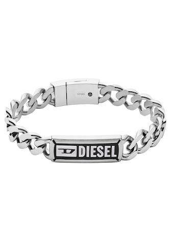 Diesel Edelstahlarmband »DX1243040«, mit Achat kaufen