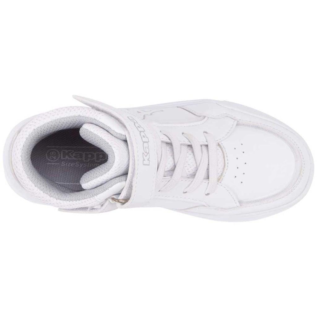 Kappa Sneaker »STIC HIGH KIDS«, in kinderfu&szlig;gerechter Passform<br />