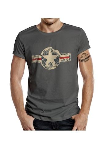 GASOLINE BANDIT® T - Shirt im angesagten Army - Look kaufen