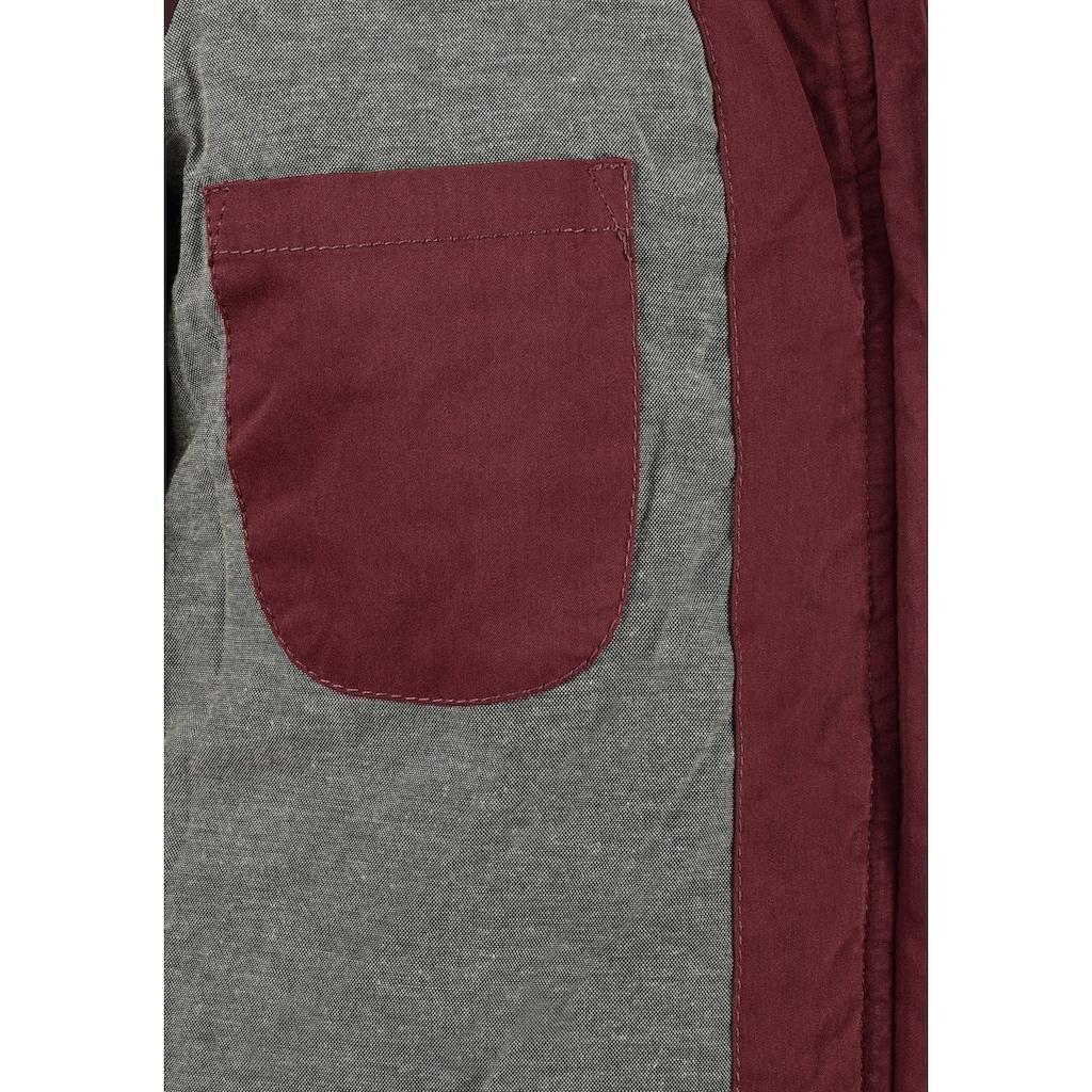 DESIRES Kurzjacke »Lewy«, Übergangsjacke mit abnehmbarer Kapuze