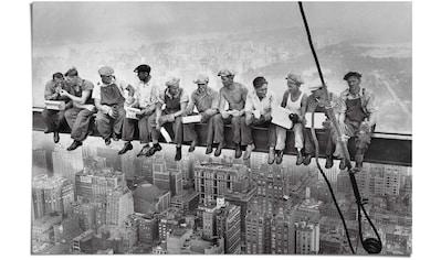 Reinders! Poster »Manhattan Stahlarbeiter«, (1 St.) kaufen