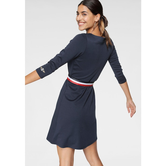 TOM TAILOR Polo Team A-Linien-Kleid (Set, mit abnehmbarem Gürtel)