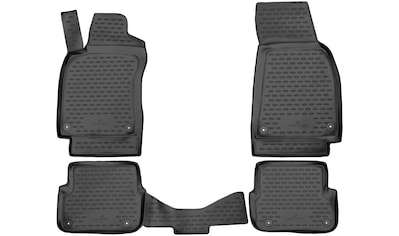 WALSER Passform-Fußmatten »XTR«, Audi, A6-A6, Kombi-Stufenheck, (4 St., 2... kaufen