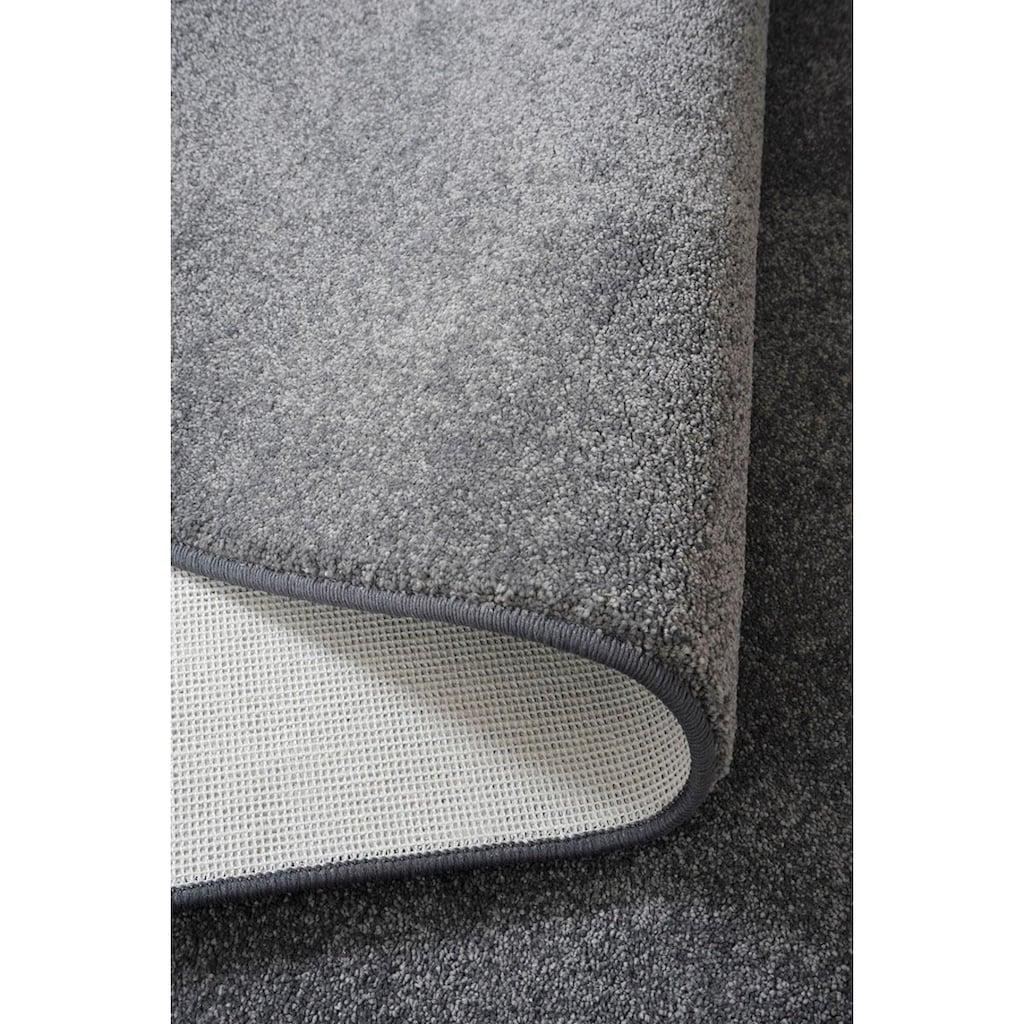Living Line Teppich »Prestige«, rechteckig, 16 mm Höhe, Velours, Wohnzimmer