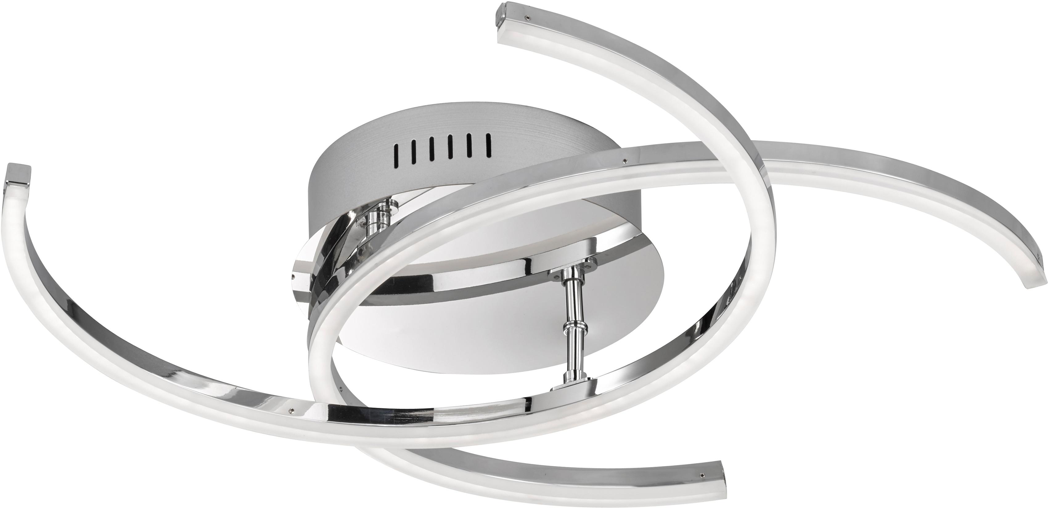 FISCHER & HONSEL LED Deckenleuchte Visby, LED-Modul, Warmweiß