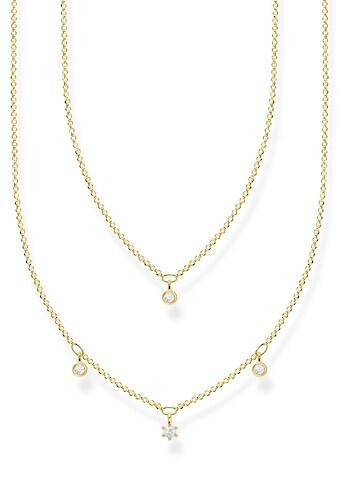 THOMAS SABO Silberkette »weiße Steine, KE2078 - 414 - 14 - L45v« kaufen