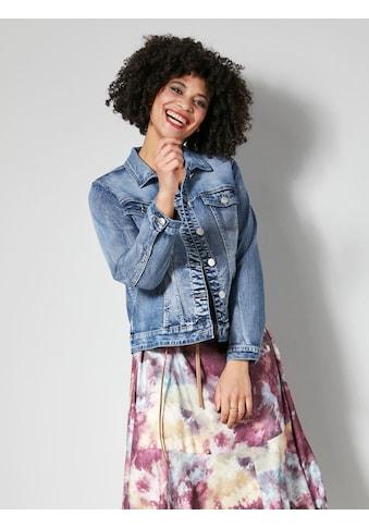 Angel of Style Jeansjacke, mit dekorativem Rückenteil kaufen