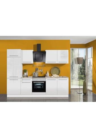 OPTIFIT Küchenzeile »Bern«, ohne E-Geräte, Breite 270 cm, mit höhenverstellbaren... kaufen