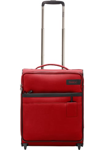 "Stratic Weichgepäck - Trolley ""Stratic Light S, red"", 2 Rollen kaufen"