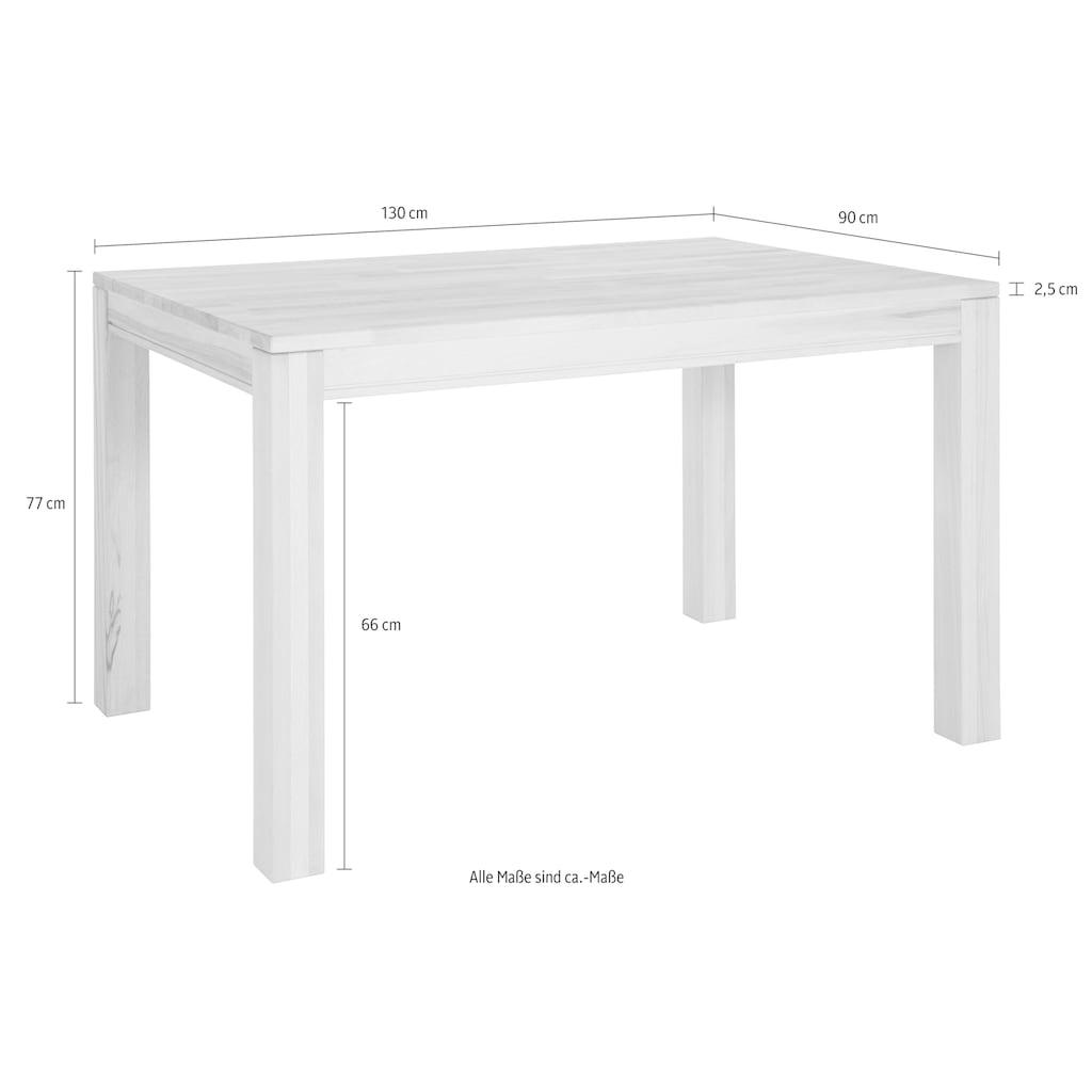 Premium collection by Home affaire Esstisch »Madison«, Breite 130 oder 150 cm