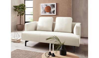 hülsta sofa 2-Sitzer »hs.440«, wahlweise in Stoff oder Leder, Spangenfüße umbragrau kaufen