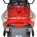 Alpha Motors Mofaroller »CityLeader«, 2,2 PS, 50 ccm, 25 km/h, rot
