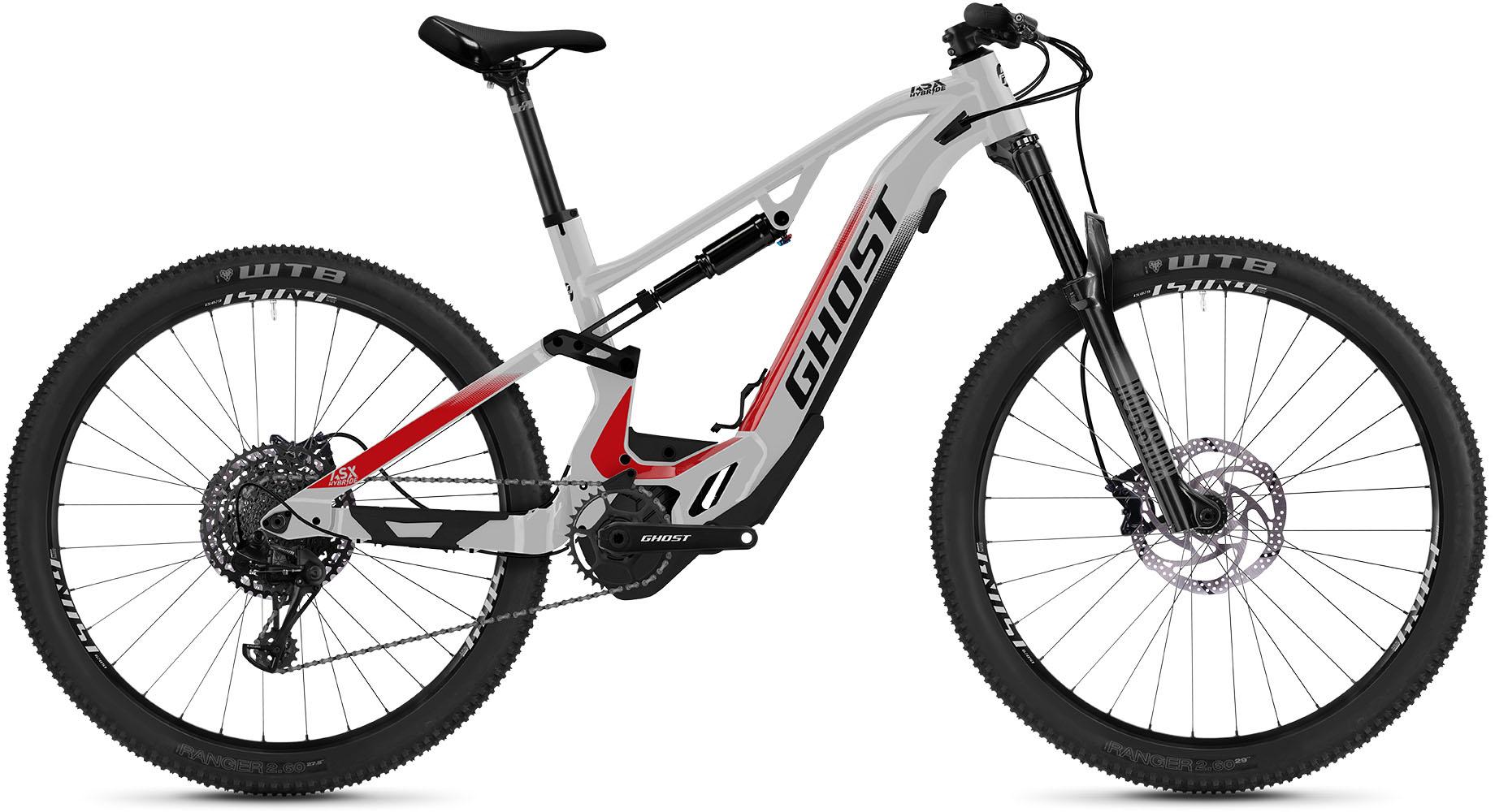 Ghost E-Bike HybRide ASX Base 160, 12 Gang, SRAM, SRAM SX Eagle, Mittelmotor 250 W