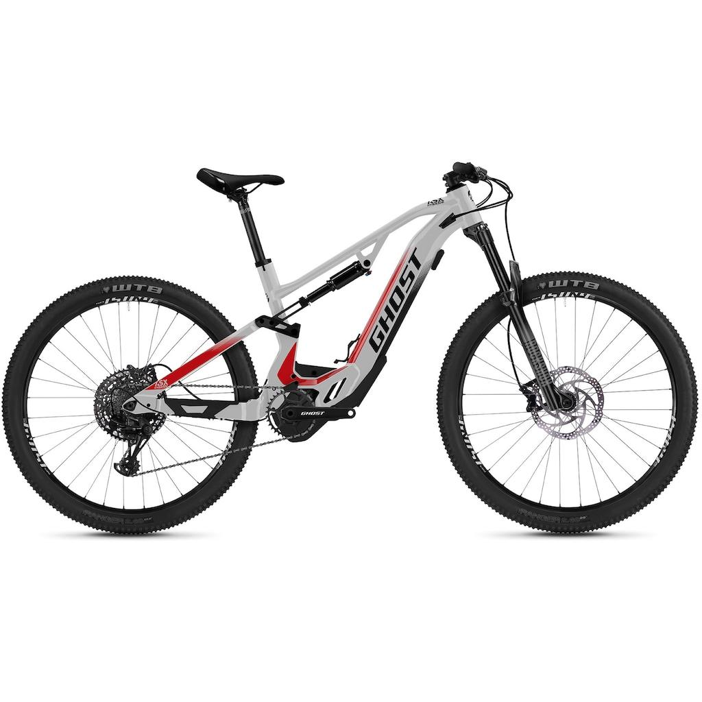 Ghost E-Bike »HybRide ASX Base 160«, 12 Gang, SRAM, SRAM SX Eagle, Mittelmotor 250 W