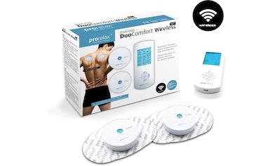 prorelax TENS-EMS-Gerät »DUO Comfort Wireless« kaufen