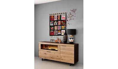 SCHÖNER WOHNEN-Kollektion Sideboard »YORIS«, Breite 181 cm, mit Klappe und Glasausschnitt kaufen