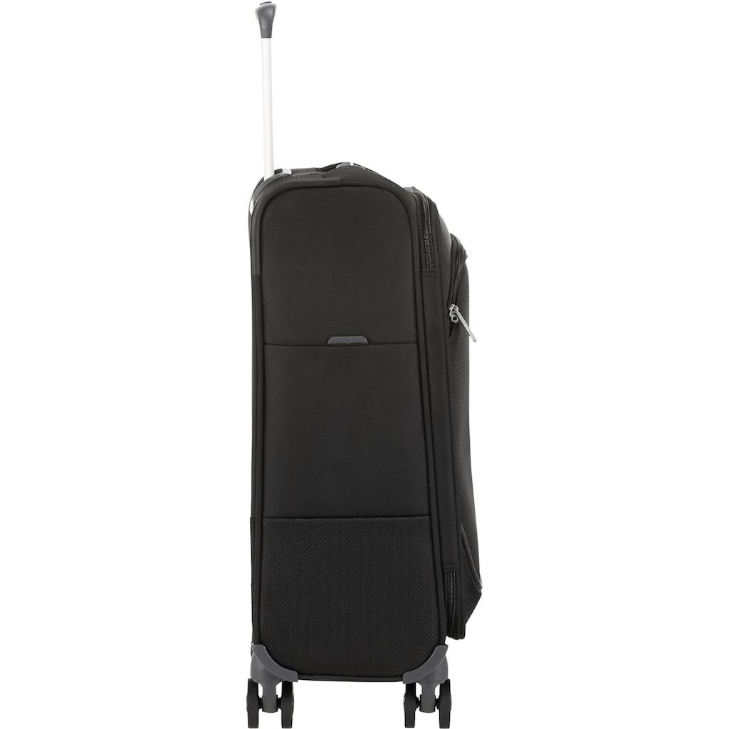 Samsonite Weichgepäck-Trolley »Popsoda, 55 cm, black«, 4 Rollen