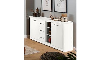 Home affaire Sideboard »Celia«, mit einer schönen Holzstruktur und edlen Metallgriffen kaufen