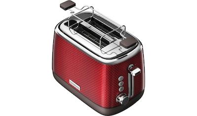 KENWOOD Toaster »Mesmerine TCM811.RD«, 2 kurze Schlitze, für 2 Scheiben, 1000 W kaufen