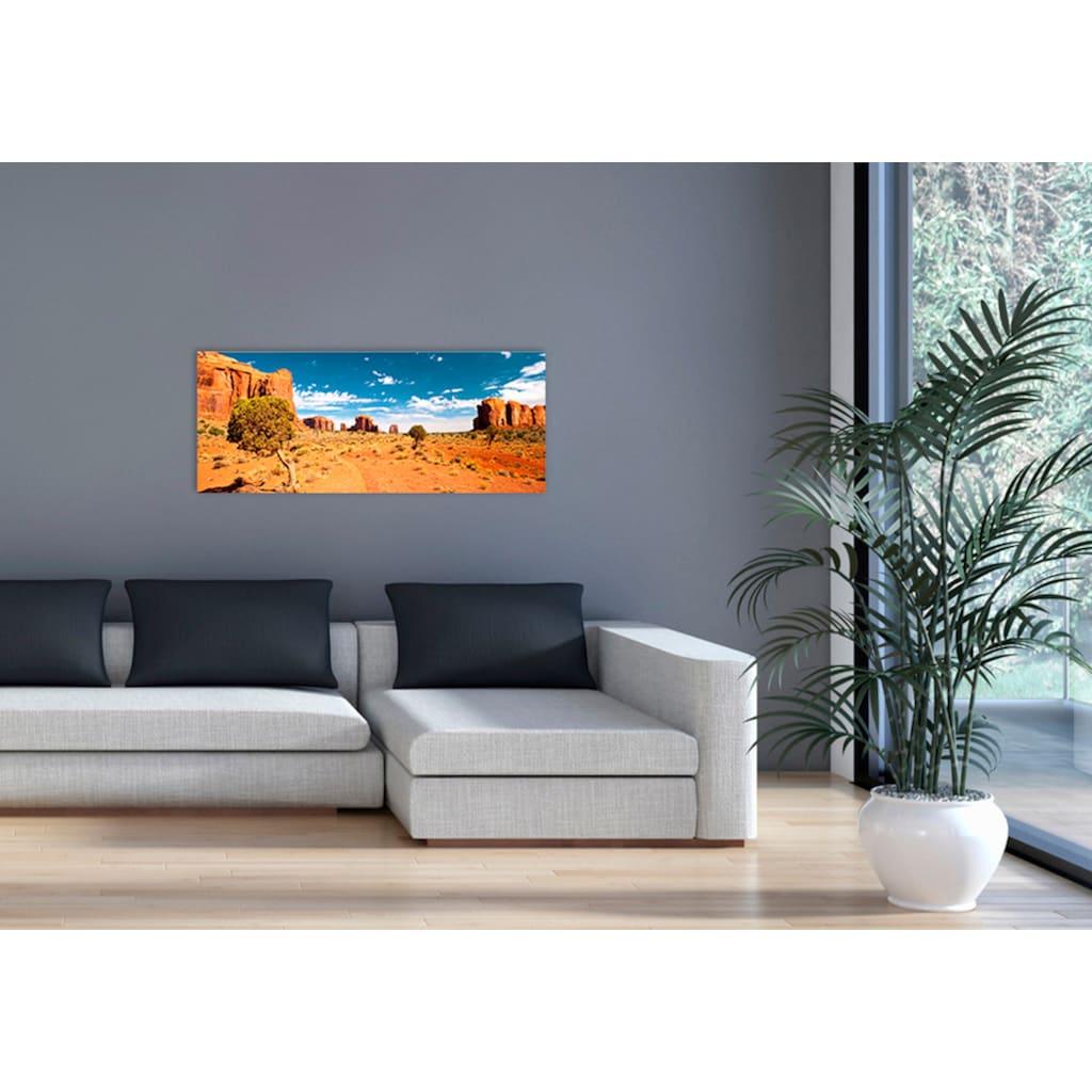 """Marmony Infrarotwandheizung »MOTIV-Heizkörper """"Monument Valley"""", 800 Watt«, trocknet Wände und Mauerwerk, aus deutschem Jura-Naturstein"""