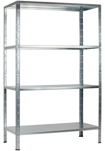 Steckregal »Haushaltsregal«, B/T/H: 100x40x190 cm kaufen