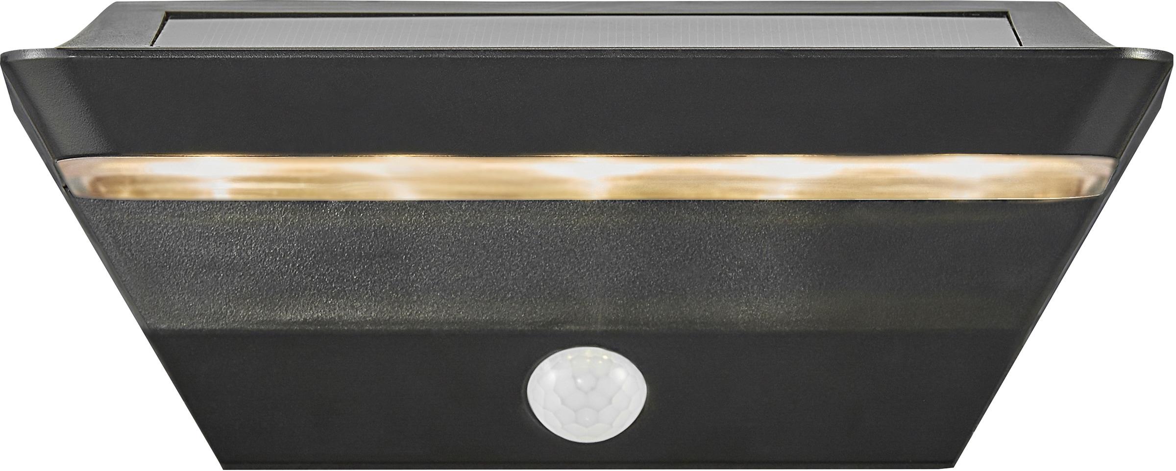 Nordlux LED Außen-Wandleuchte AGENA, LED-Modul, 5 Jahre Garantie auf die LED/ Solar Modul
